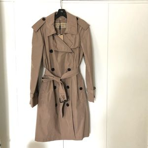 Authentic Burberry rain trench coat